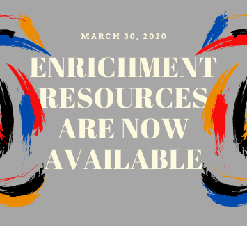 Enrichment Resources are now available
