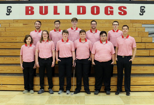 2019 Boys' Golf Team Photo