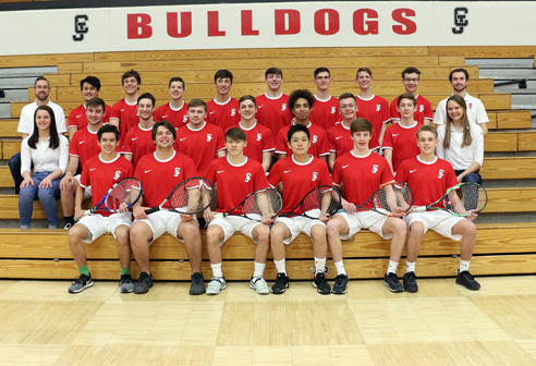 Boys' Tennis Team Photo