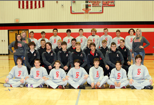 2018 Wrestling Team and Managers
